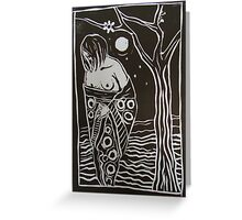 Moonlight Surrender Greeting Card