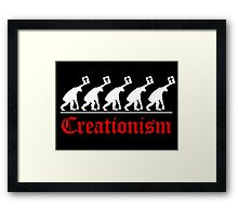 CHRISTIAN EVOLUTION Framed Print