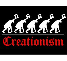 CHRISTIAN EVOLUTION Photographic Print