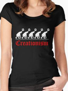 CHRISTIAN EVOLUTION Women's Fitted Scoop T-Shirt