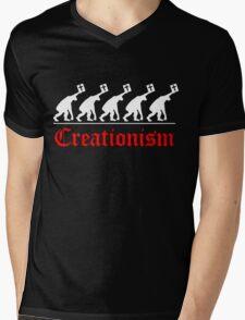 CHRISTIAN EVOLUTION Mens V-Neck T-Shirt