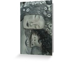 Tonal Study of Klimt's Masterpiece Greeting Card