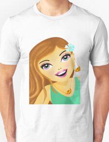 Unique fashion model illustration  Unisex T-Shirt
