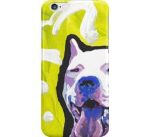 Dogo Argentino Dog Bright colorful pop dog art iPhone Case/Skin