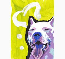 Dogo Argentino Dog Bright colorful pop dog art Unisex T-Shirt