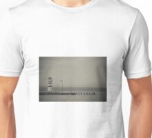 Lighthouse in black and white Unisex T-Shirt