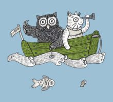 The Owl & The Pussycat Went to Sea One Piece - Short Sleeve