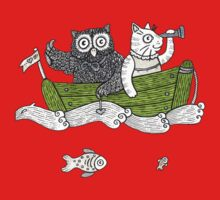 The Owl & The Pussycat Went to Sea Kids Tee