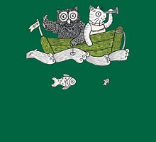 The Owl & The Pussycat Went to Sea Womens Fitted T-Shirt