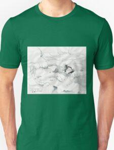 SKI HEAVEN(C2012)(PEN DRAWING) Unisex T-Shirt