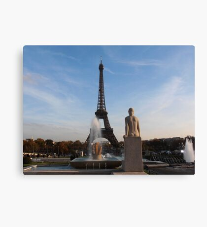 Guess where Canvas Print