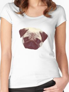 Little Pug Women's Fitted Scoop T-Shirt