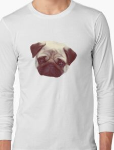Little Pug Long Sleeve T-Shirt