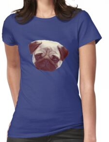 Little Pug Womens Fitted T-Shirt