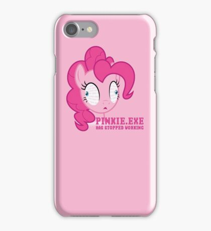 PINKIE.EXE iPhone Case/Skin