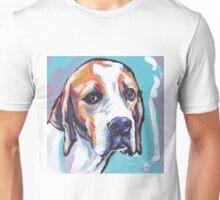 English Pointer Dog Bright colorful pop dog art Unisex T-Shirt