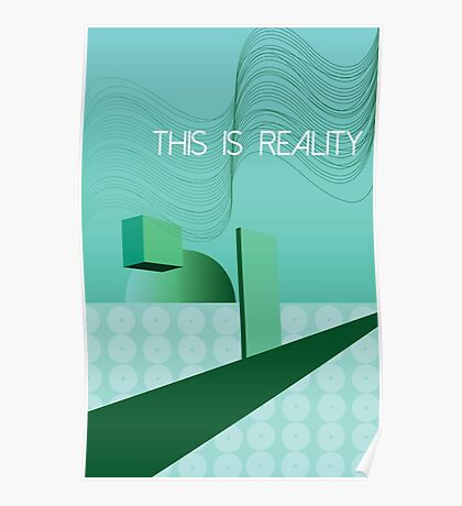 living in a green world Poster
