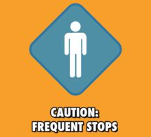 Caution: Frequent Stops T-Shirt by proanimus