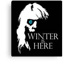 White Walker: Winter Is Here  Canvas Print