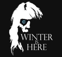 White Walker: Winter Is Here  by sjdesigns