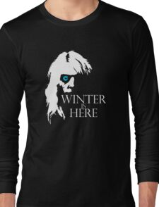White Walker: Winter Is Here  Long Sleeve T-Shirt