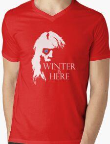 White Walker: Winter Is Here  Mens V-Neck T-Shirt