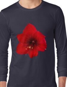 Handsome red flower Long Sleeve T-Shirt