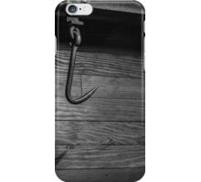 Spooky black and white iPhone Case/Skin