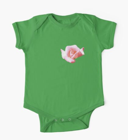 Lovely pink rose One Piece - Short Sleeve