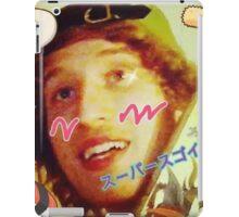 Kawaii LSD Face SKYSCRAPER iPad Case/Skin
