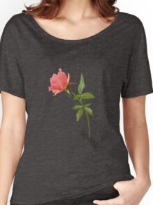Romantic pink rose Women's Relaxed Fit T-Shirt