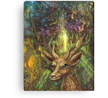 The Sacred Alley of Stags Canvas Print