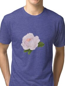 Wonderful pink rose Tri-blend T-Shirt