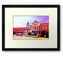Parking Outside The palace Framed Print