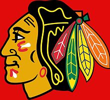 Chicago Blackhawks by vintagemarket