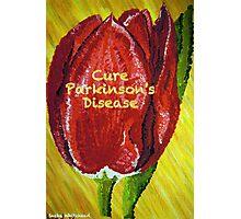 Tulip of Love - Cure Parkinson's Disease  Photographic Print