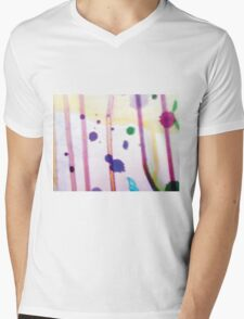 Colorful Abstract Mens V-Neck T-Shirt
