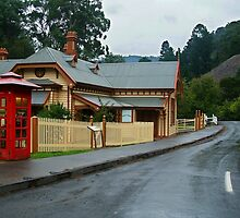 Walhalla Post Office by Joe Mortelliti