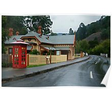 Walhalla Post Office Poster