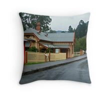 Walhalla Post Office Throw Pillow