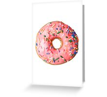 a real donut Greeting Card