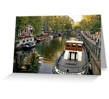 Amsterdam Tug  Greeting Card