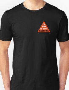 GASOLINE DANGER STICKER FOR BIKE T-Shirt