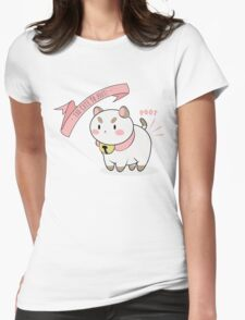 Too Cute To Poot! Womens Fitted T-Shirt