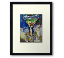 Summer Breeze Martini Framed Print