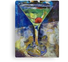 Summer Breeze Martini Canvas Print