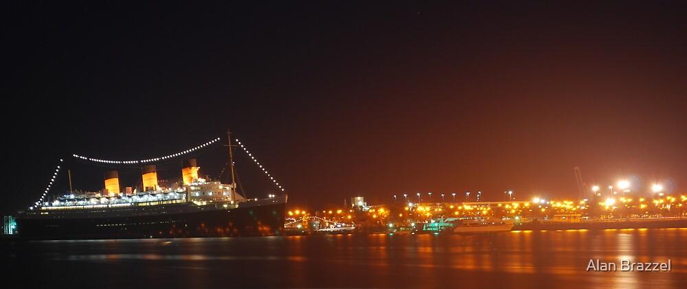 Queen Mary-Long Beach by Alan Brazzel
