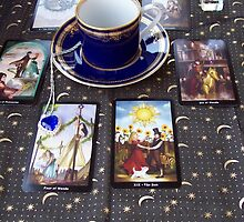 Tarot reading and tea by edwardiangirl
