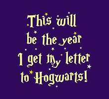This will be the year I get my letter to Hogwarts by jazzydevil