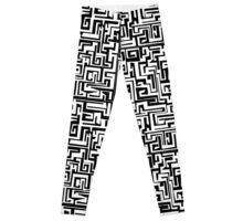 Maze Design Leggings